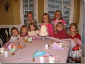 Birthday Party Lesson in Manners