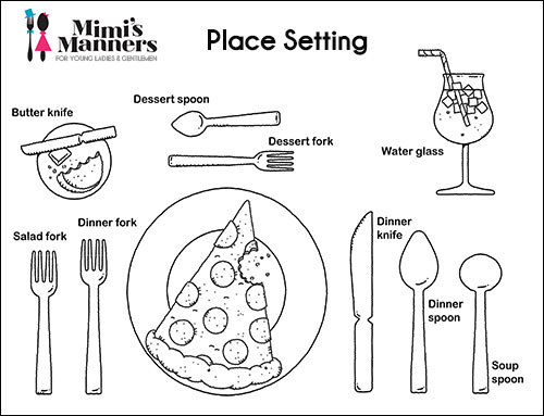manners coloring pages printables - photo#33