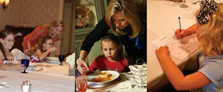 Mimi's Manners classes teach etiquette in real world settings